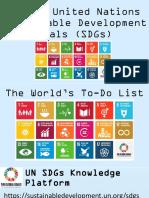 UN SDGs Introduction