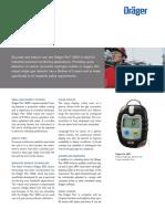 Draeger Pac 3500 Portable Gas Detector