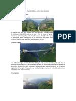 Puentes Mas Altos Del Mundo