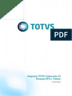 Integração TOTVS Colaboração 2.0 Recepção NFS-e - Datasul