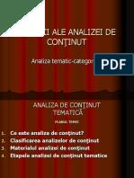 5.Analiza Tematic Categoriala.(ID)
