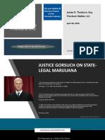 CannabisLearn Case Law Update Thorburn Walker