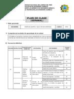 Plan de Clase - Diseño de Equipos