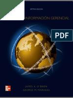 Sistemas de Informacion Gerencial James Obrien