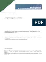 Homenaje a Jorge Joaquin Llambias Mazzinghi