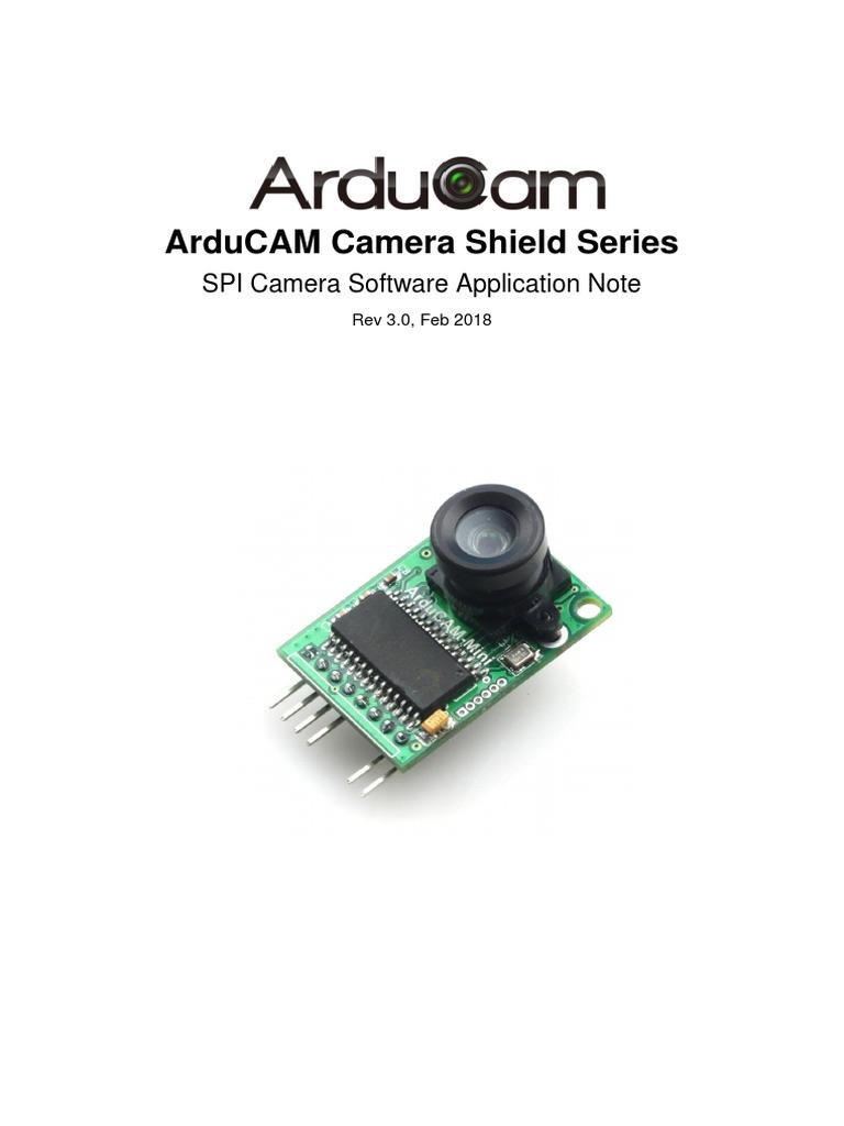 ArduCAM Camera Shield Software Application Note