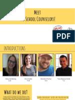 meet  the school counselors