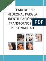 Informe de Transtorno de Personalidad