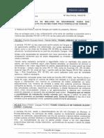 Proposta de mellora de seguridade viaria nas estradas de competencia da Xunta en Cangas