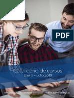 ES Course Calendar 2018