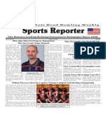 May 2 - 8, 2018  Sports Reporter