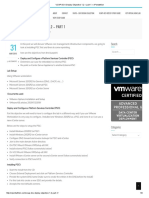 Deploy and Configure a Platform Services Controller