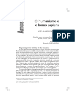 MORAES, João Quartim de - Humanismo e homo sapiens.pdf
