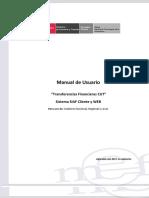 Manual Transferencias Financieras CUT