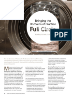Bringing the Domains of Practice Full Circle