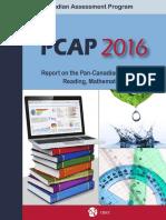 Pan-Canadian Assessment Program report 2018