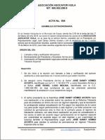 6. Acta Permanencia Asocafor