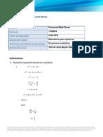 EcuacionesCuadraticas