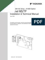 Manual Inglês BACnet-A1000