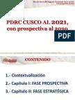 Pdrc Cusco 2016 Prospect 2030 Final 2do Trimestre 2016