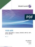Alcatel-Lucent 9500 MPR User Manual