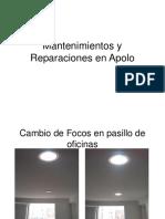 Mantenimientos y Reparaciones en Apolo