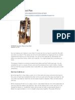 DIY - Clamp Cart Project Plan