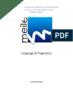 Module 2. Language and Pragmatics