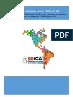 Programa Simposios ICA 2015