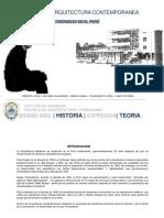Modernidad en El Peru FINAL