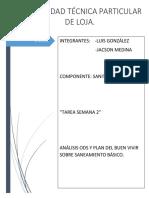 Analizar Los Objetivos de Desarrollo Sostenible