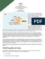 Haití Perfil Geográfico de 4 Islas Del Caribe