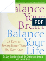 Balance Your Brain, Balance Your Life 28 Days to Feeling Better
