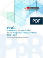 INEI Informe PpR Anual 2017