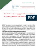 correction Thème 1123 – Quels sont les  moyens des pouvoirs publics pour assurer la justice sociale.doc