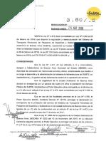 Resolución Sbase Tarifas 2018