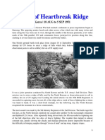 Mil Hist - Korea Battle of Heartbreak Ridge