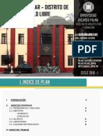 Diseño Urbano - Cuartel Bolivar Critica