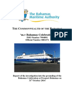 BMA Casualty Report Bahamas Celebration Report