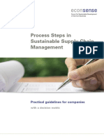 Econsense Process Steps in Sustainable Supply Chain Management Practical Guideli...