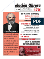 REVOLUCIÓN OBRERA No. 470