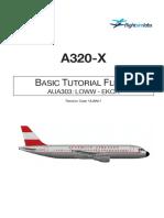 A320-X Basic Tutorial
