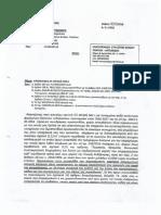 Αρνητική απάντηση του Προϊστάμενου Οικονομικών του Δήμου Σπάτων, Αρτέμιδος