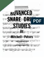 17fba8a609e09 Intermediate Snare Drum Studies - Mitchell Peters