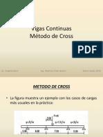 Vigas Continuas(met. de Cross)
