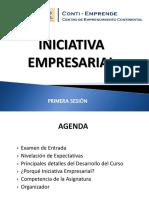 Iniciativa, Emprendedurismo y Emprendedor