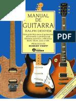 Manual de Guitarra - Ralph Denyer en Espa Ol