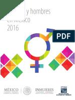 Mujeres y Hombres 2016 INEGI