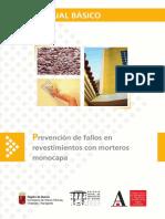 Manual Básico- Prevención de Fallos en Revestimientos Con Morteros Monocapa