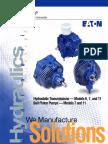 Eaton 11 Hydrostatic Transmission
